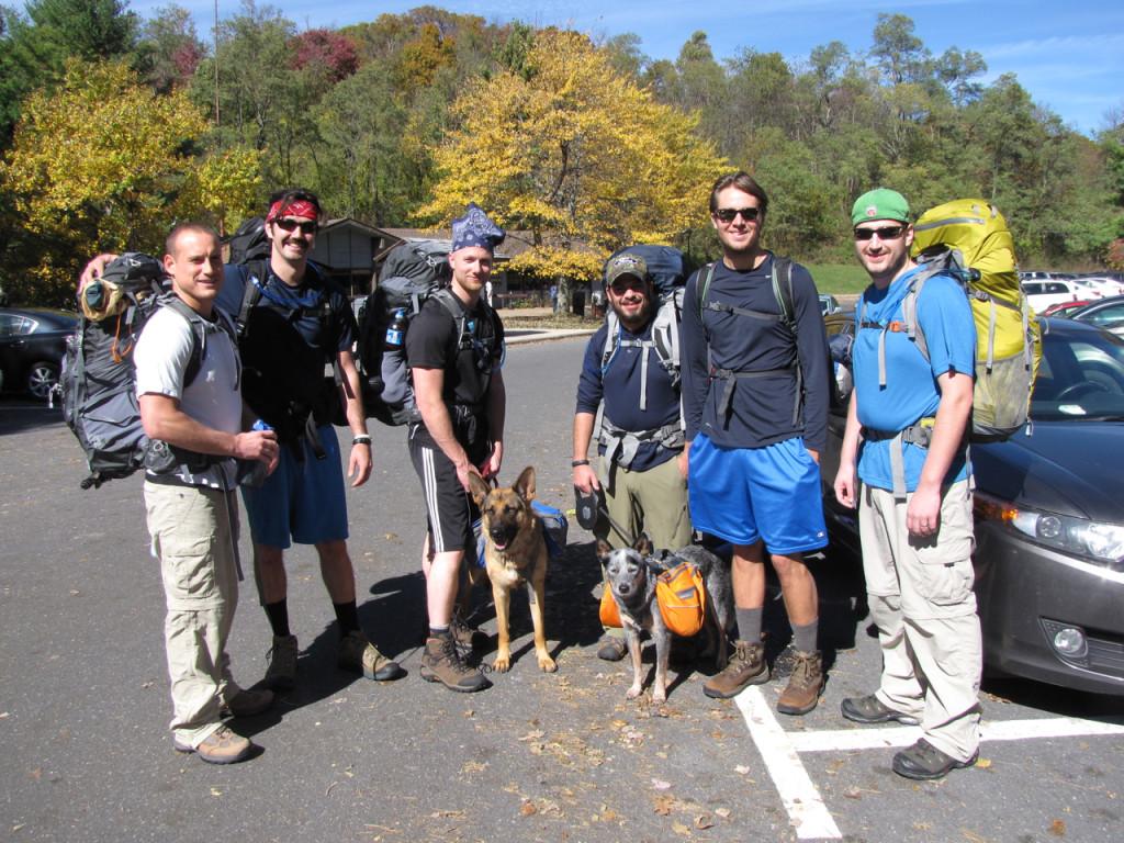 Shenandoah Group Hiking w:Dogs