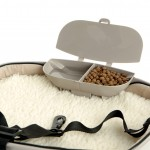 Travelin Dog Pet Seat dish