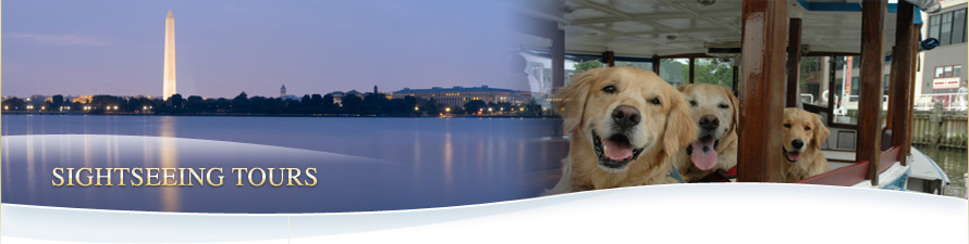 Canine Cruises Potomac banner