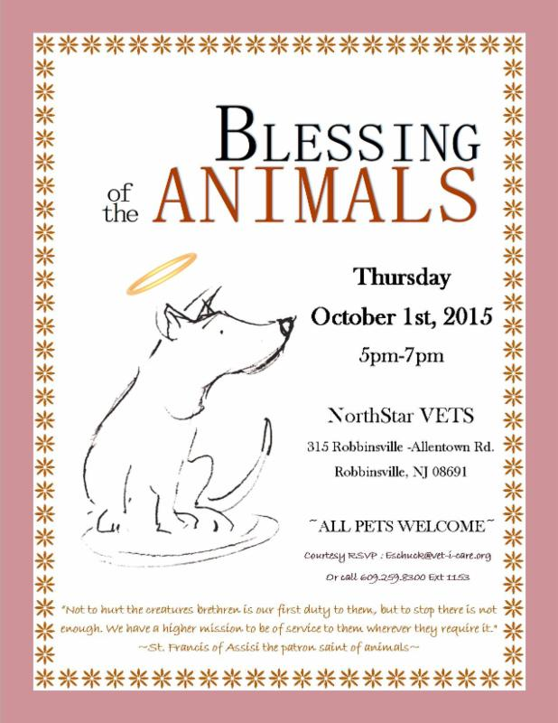NJ Blessing of the Animals