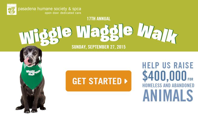 Pasadena wiggle waggle walk
