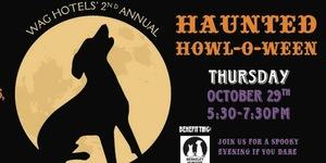 wag hotels halloween flyer 2015