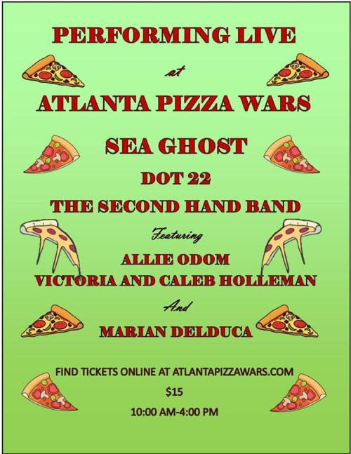 Pizza war Bands