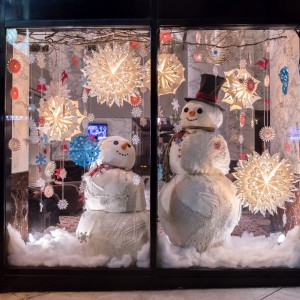 Affinia snowmen-window
