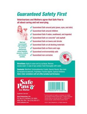 Safe Paw label